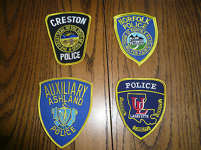 Police Patches - Mixed Lot - Patch Five