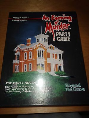 An Evening of Murder - Beyond the Grave - NEW SEALED