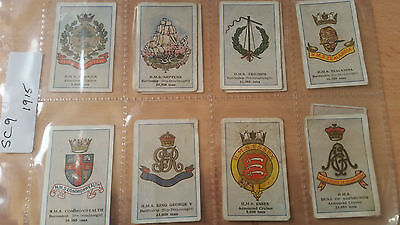 1915 Series Cigarette Cards Snider's & Abraham's War Related Cards