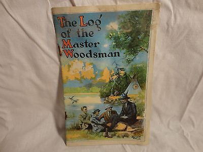 Boy Scout Booklet Earnest Thompson Seton The Log Of The Master Woodsman 1926