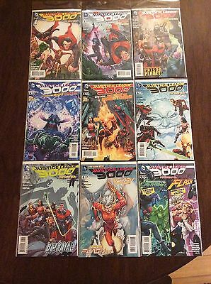 Justice League D.C. Comic Books, Lot Of 9, The New 52 1-9, Mint Condition