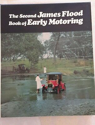 THE SECOND JAMES FLOOD BOOK of EARLY MOTORING