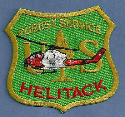 United States Forest Service Helitack Patch