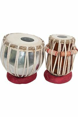 Authentic Indian Tabla Set w/ Case Made by Dorpmarket