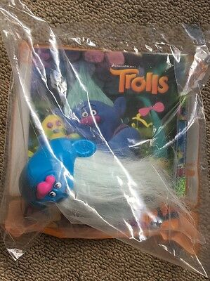 McDonald's Toy TROLLS - Biggie New Sealed In Packet