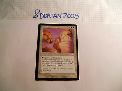 1x MTG Desiderio Dorato-Golden Wish Magic EDH JUD Sentenza ITA-ING x1