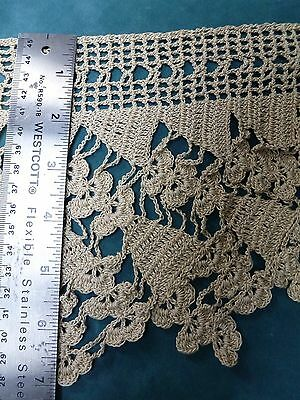 Antique Hand Crocheted Lace -Trim - Almost 4 Yards