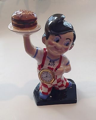 Big Boy Ceramic Advertising Clock By Elias Bros.
