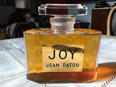Sublime flacon géant factice Joy jean Patou