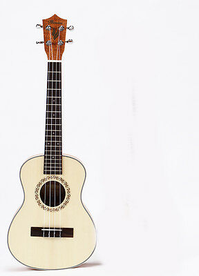 24 inches Wood Color 4 String Beginners Preferred Musical Instrument Ukulele
