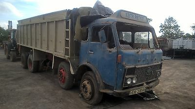 volvo f86 8x4 tipper classic vintage lorry for restoration scania daf iveco