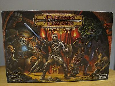 Rare Dungeons & Dragons - The Fantasy Adventure Board Game Parker 2003 VGC