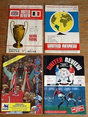 Manchester United Programmes