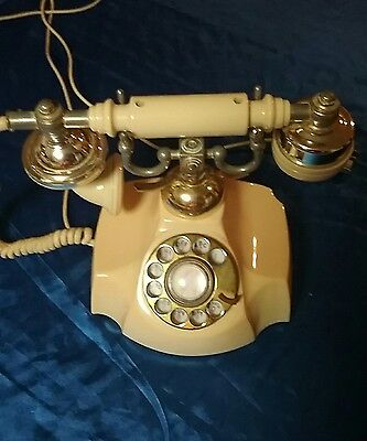 Electra rotary dial antique french telephone