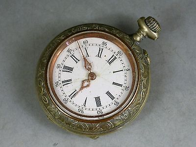 Silver Plated Ladies Pocket Watch