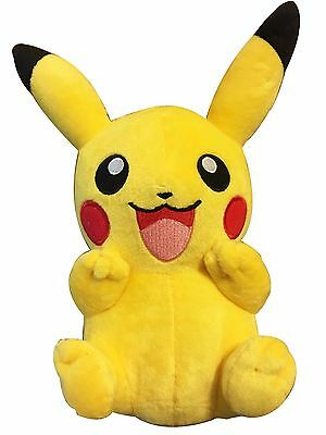 "9"" Pokemon Pikachu With Arms Up Pocket Monster Plush Toy Stuffed Doll"