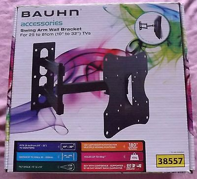 BAUHN SWING ARM WALL BRACKET For 10 inch to 32 inch (25 to 81cm) TVs