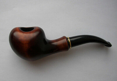 """Tobacco Pipe Wooden Gorgeous handmade Tobacco Smoking PIPE Hand carved """"Quince"""""""