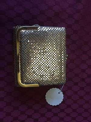 GOLD MESH WALLET New And Unused With Tag Unbranded