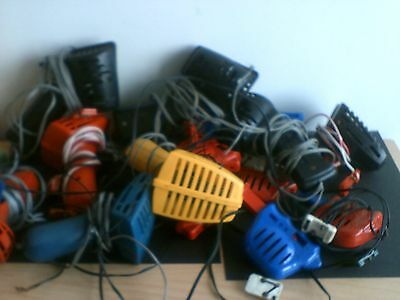 JOB LOT 14  SCALEXTRIC Hand Controllers/throttles inc race tuned spares/repair