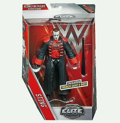 WWE Mattel Wrestling Figure Elite Series 39 STING With Bat ONLY AVAILABLE HERE!