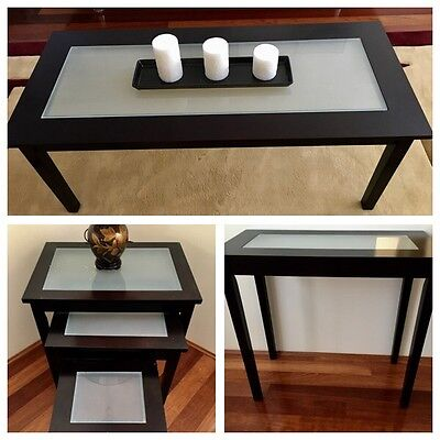 Coffee Table, Hall Table, Side Tables - Dark Brown