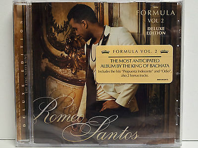 Romeo Santos - Formula Vol.2 - Deluxe Edition - Cd - Nuevo - Precintado - Sealed