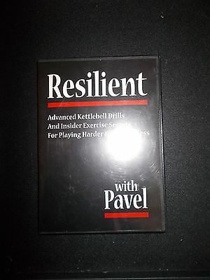 Resilient KB DVD by Pavel Tsatsouline    RKC  Dragondoor Strongfirst