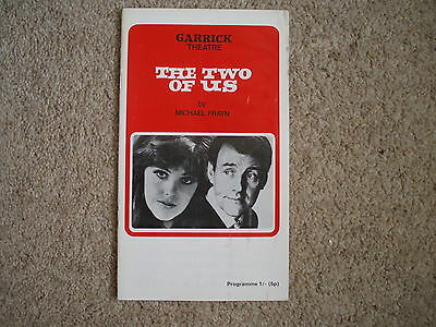 1970 The Two of Us, Garrick Theatre - Lynn Redgrave & Richard Briers