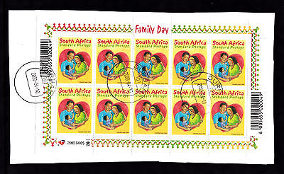 South Africa 2000 Family Day Fu Sheet