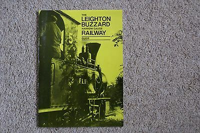 1980s edition of Leighton Buzzard Narrow Gauge Railway Guide - 32 pages - A5
