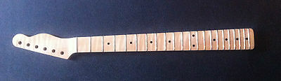 """Stunning"""" Aaa """"tele Type Flamed Maple One Piece Neck/hals"""
