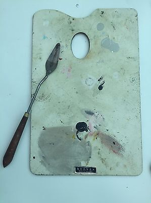 Reeves Palette Knife And Artists Palette - Used