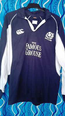 Scotland rugby union shirt, jersey, Canterbury, men's, XL Long sleeves adults