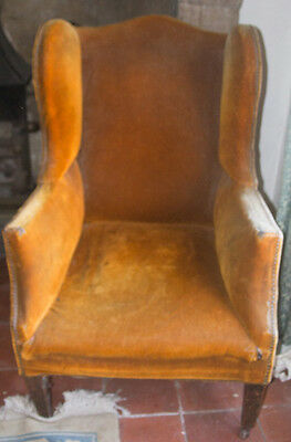 Antique Wing Chair for restoration