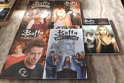 Buffy 1st Eds x5: Creatures of Habit,Play With Fire,Oz,Haunted,Death of Buffy