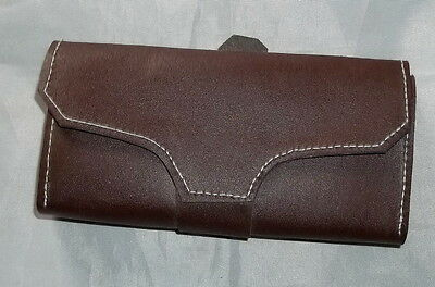 "Sewn Cowhide Leather Wallet (Brown)-Money-Colonial/Mountain Man/Civil War -""NEW"""