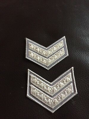 st john ambulance Corporal Rank Markings Excellent Condition