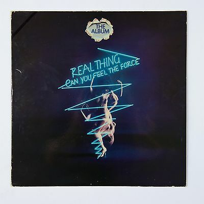 The Real Thing Can you feel the Force  The album  yellow vinyl LP vinyl
