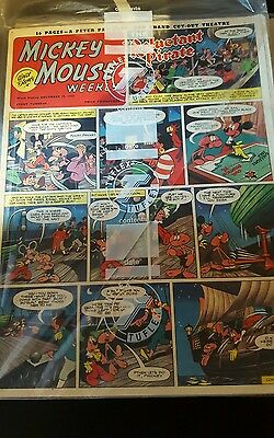 MICKEY MOUSE WEEKLY DECEMBER 13th 1952 UK Disney Comic