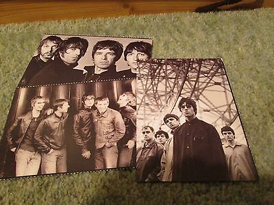 Oasis- Stop The Clocks Promo mailing cards.