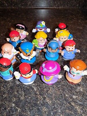 Fisher-Price Little People Mixed Lot of 14 Little People Figures  some rare