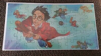 Harry Potter puzzle message card