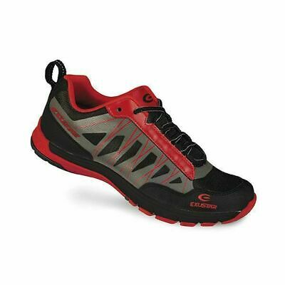 E-SM825 Shimano SPD Type Mountain Bike shoes Red/Blk
