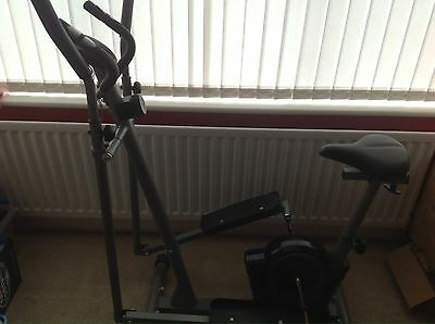 Fitness Pro 2 In 1 Cross Trainer And Exercise Bike