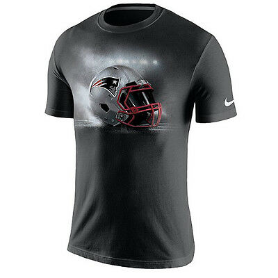 New England Patriots Nike NFL American Football Vapor Helmet Cotton T-Shirt XL