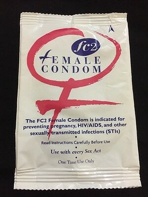 5 X FC2 Female Condom Preventing Pregnancy, HIV / AIDS And Other