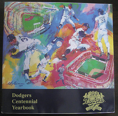 Baseball- LOS ANGELES DODGERS- Dodgers Centennial Yearbook 1990