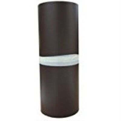 "Aluminum Handy Roll, 14"" x 25' White & Brown"