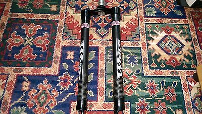 """White Brothers 26"""" Carbon Mountain Bike Forks  1"""" 1/8th"""